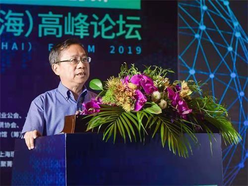 上海现代服务业联合会会长、上海市人大常委会原副主任郑惠强