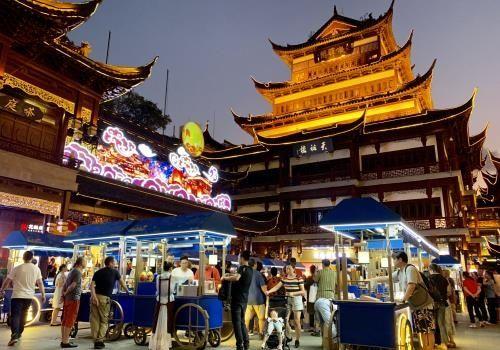 上海旅游购物胜地豫园 记者 康玉湛 摄