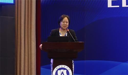 上海民营经济研究会副会长、新经济与产业国际竞争力研究中心执行主任汤蕴懿介绍指引报告