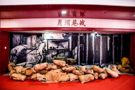 """""""壮丽70年 奋斗新时代""""宝山区庆祝新中国成立70周年主题展开幕"""