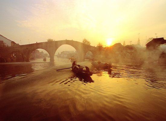 朱家角放生桥