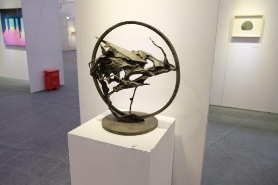 重新定义――2019上海青年艺术博览会。 /夏俊龙 摄