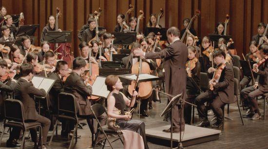 《冬日怀旧》专场音乐会。 /上海音乐学院 供图