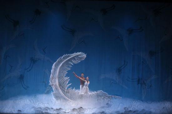 中央芭蕾舞团《过年》。 /东艺 供图