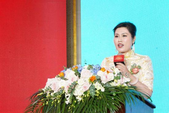 上海宋庆龄基金会美孕专项基金管委会主任林梅兰致辞