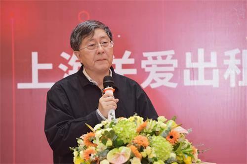 (上海市志愿服务公益基金会理事长陈振民致辞)