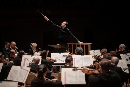 波士顿交响乐团与尼尔森斯。 /东艺 供图