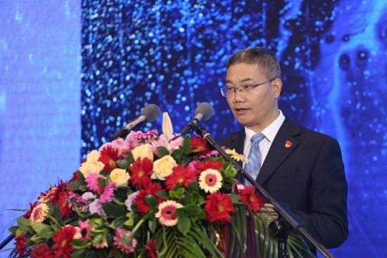 图:浦城县委书记周永和致辞。
