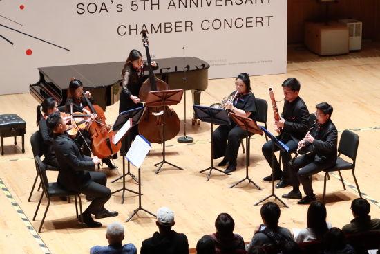 上海乐队学院五周年室内音乐会。 /官方供图