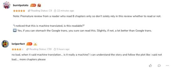 海外读者对AI翻译质量感到赞叹。 /guan'fang