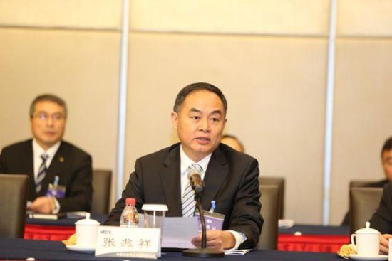 中冶集团暨中国中冶党委书记、中冶集团总经理张兆祥作总结讲话