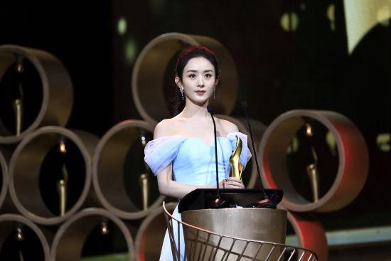 超级风云女演员赵丽颖。 /官方供图