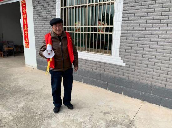 富圩村党员志愿者杨汉斌