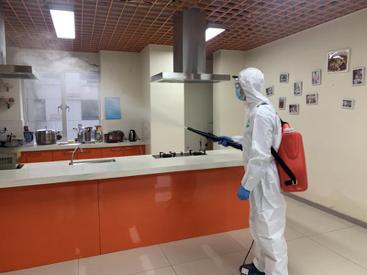 e家政推出的杀菌消毒服务