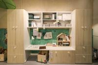 """""""绿野仙棕""""主题儿童房家居展间。"""
