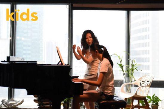 钢琴家柴琼妍授课。 /官方供图