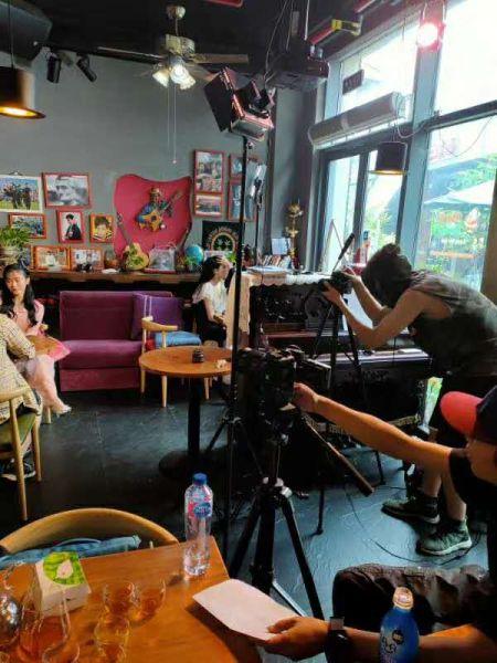 当天启动新媒体短视频系列剧拍摄。