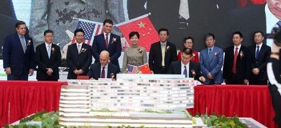 图:上海泰和诚肿瘤医院·MD安德森多学科精准诊断中心合作签约。