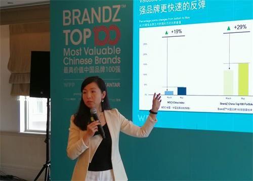 (凯度集团中国CEO兼BrandZ全球总裁王幸发布榜单)