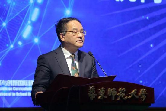 上海市教委副主任倪闽景致辞