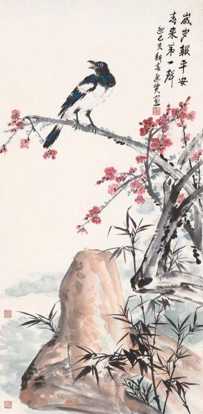 唐逸览的花鸟