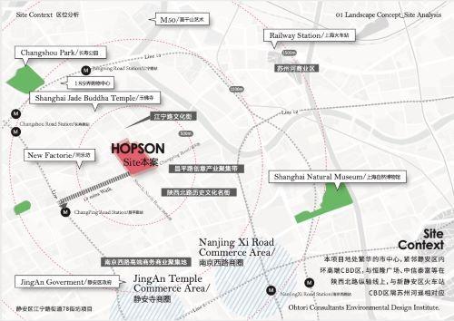 (MOHO上海位于江宁路699号)