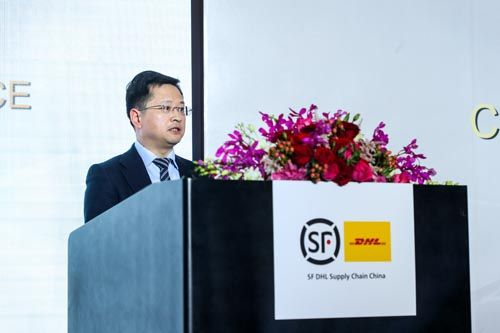 上海市虹口区副区长袁泉出席发布会