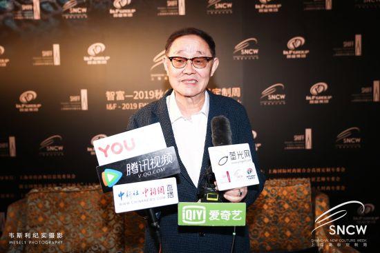 上海国际时尚联合会会长葛文耀