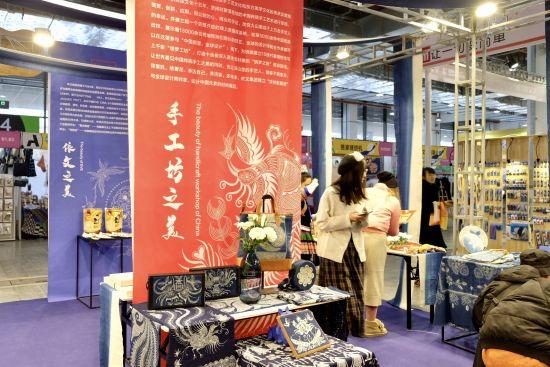 第五届上海国际手造博览会。 /夏俊龙 摄