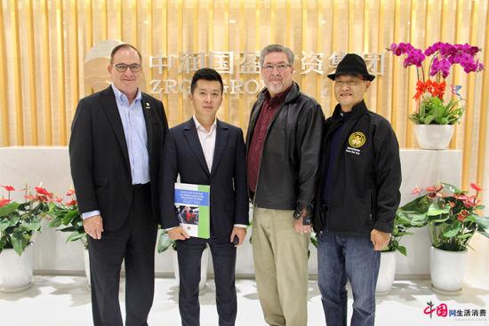 金沙线上娱乐官网:美国加州代表团访问中润国盈投资集团共商产业合作