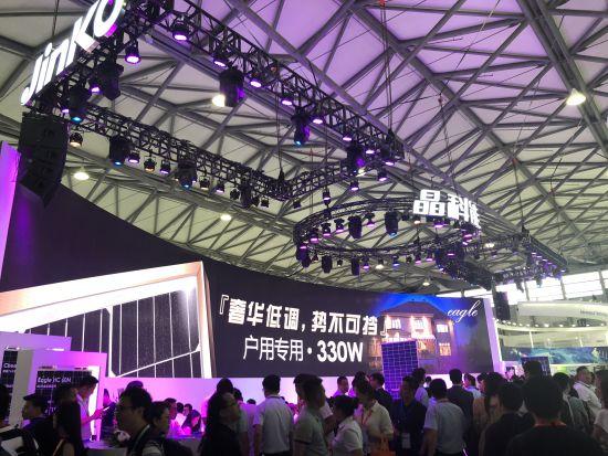 更新最快电子游戏网址:六款重磅新品亮相SNEC_2018晶科能源再度成为创新技术引领者