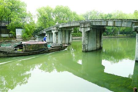 """澳门赌博攻略:上海交大专业团队让青浦元代古桥""""重生"""""""