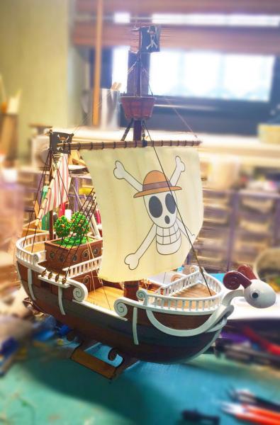 赌博平台网址:知名古帆船制作大师诺米叔__打造现实版《海贼王》