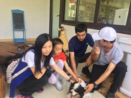 """皇家彩票网是否正规:上海口岸五星检疫犬""""四眼""""退役进新家养老"""