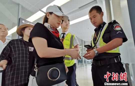 """7月中旬起虹桥机场国内航班将全面上线""""无纸化""""安检"""