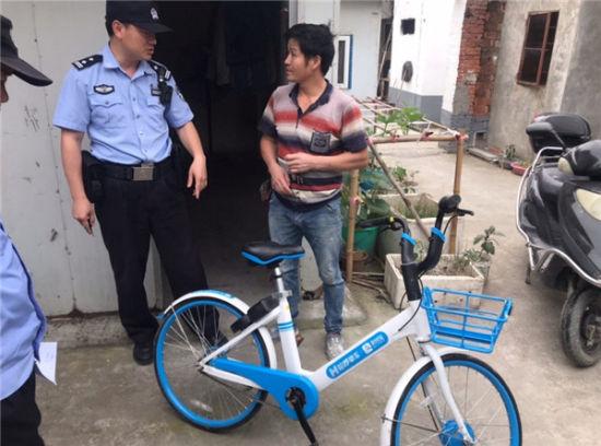 """上海警企共管共治""""单车私占破坏"""""""