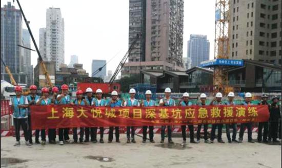 pk10网上投注:中建二局上海分公司开展触电事故安全应急演练