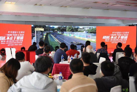 澳门线上赌博:2018F1中国大奖赛车迷沙龙在沪举行