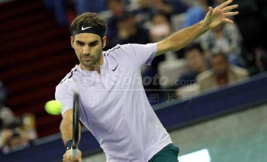 上海网球大师赛:罗杰?费德勒苦战3局晋级决赛