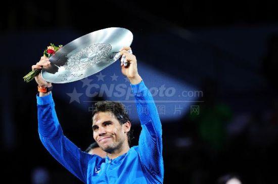 纳达尔获得2017上海网球大师赛男单亚军