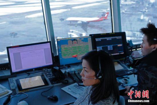 大通彩票开奖记录:民航华东空管积极应对上海持续性降雪天气