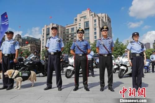 """意大利警员""""亮相""""外滩 中意警方在华警务联合巡逻最新平台博彩官网站启动"""