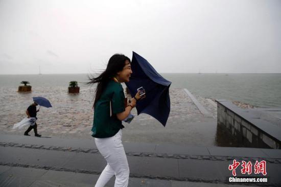 """台风""""温比亚""""登陆2018注册送体验金理财浦东 江浙等地迎接大暴雨"""