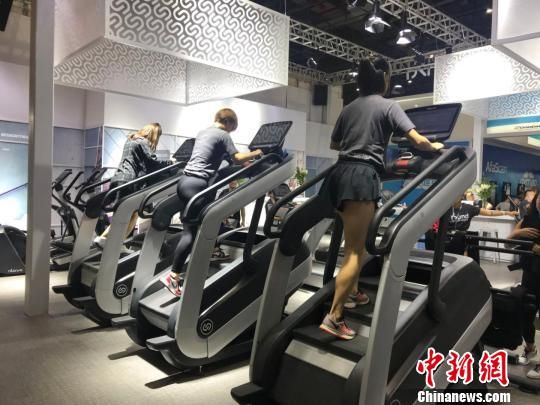 """""""黑科技""""健身器材亮相FIBO CHINA 2018"""
