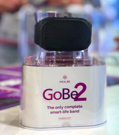 必发彩票正规吗:Healbe携升级版智能手环GoBe2亮相2018亚洲电子消费展