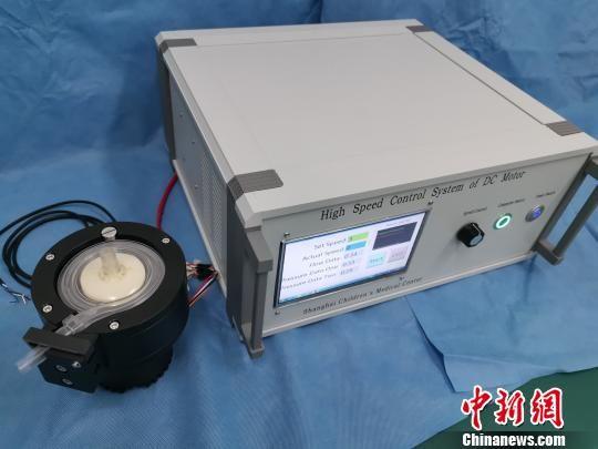 上海医学专家成功自主研发离心泵 打破对进口设备依赖